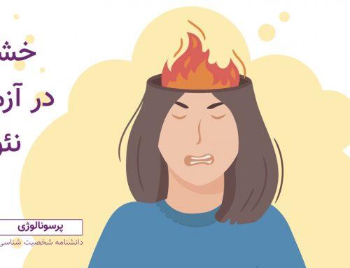 خشم در آزمون نئو : دومین خرده مقیاس روان آزردگی (N2)