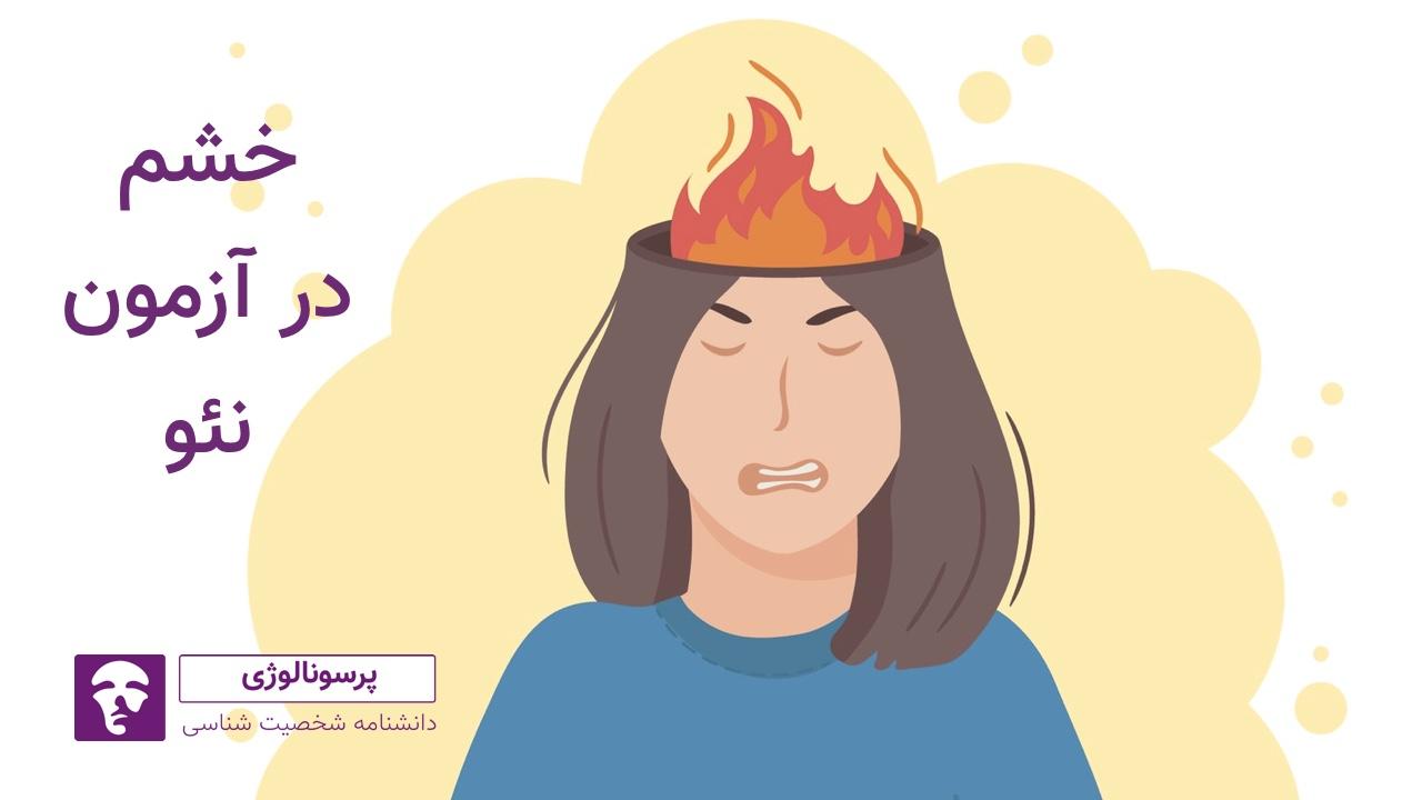 خشم در آزمون نئو